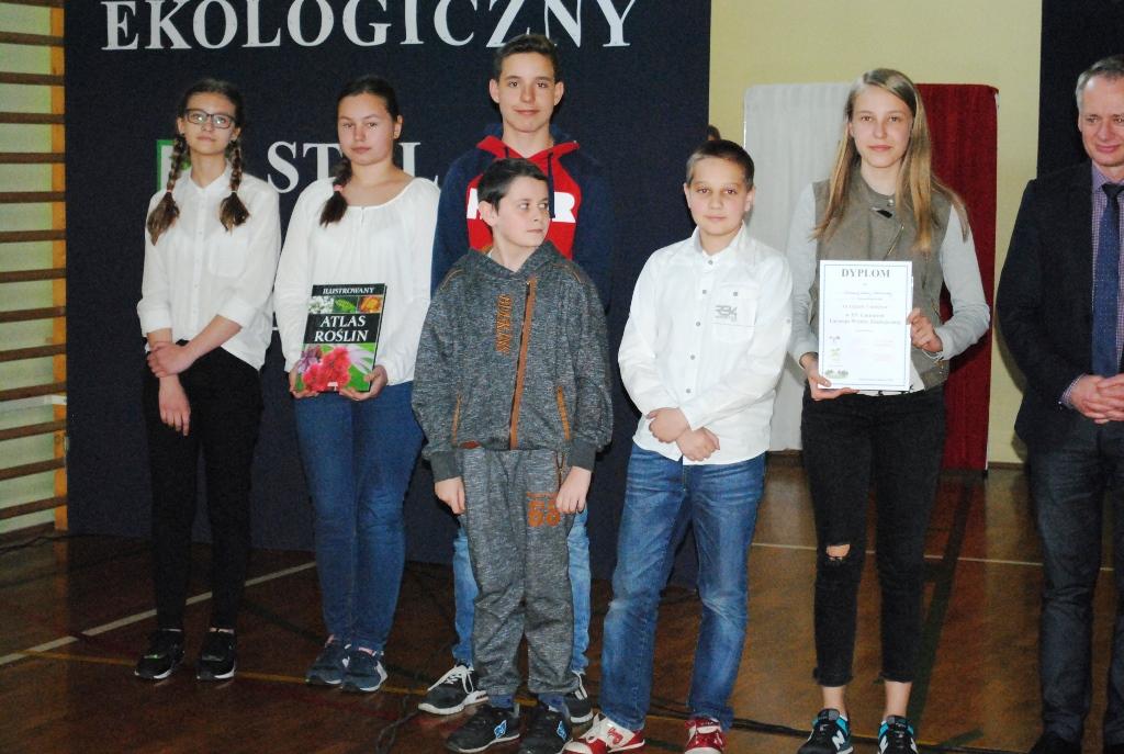 XV Gminny Turniej Wiedzy Ekologicznej