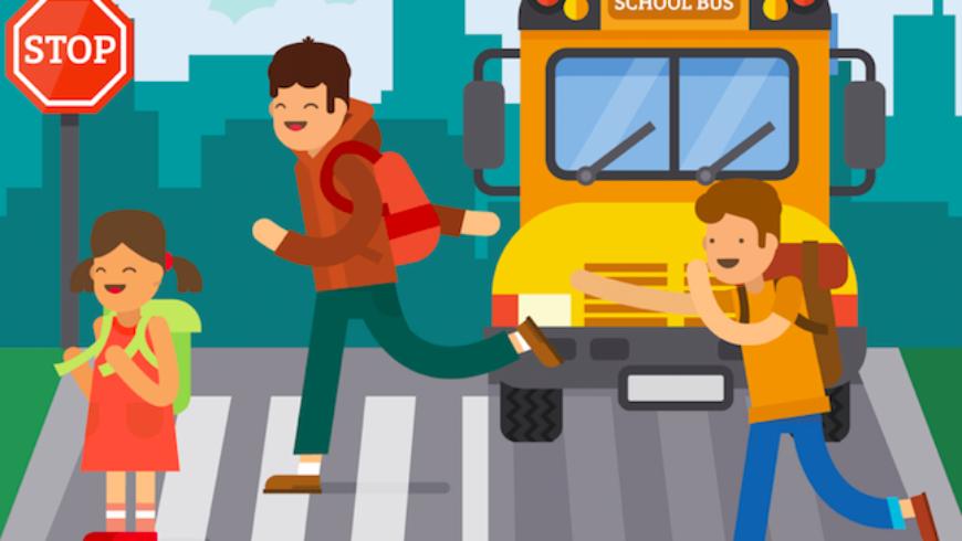 Bezpieczna droga do szkoły i domu. Bezpieczeństwo w sieci.