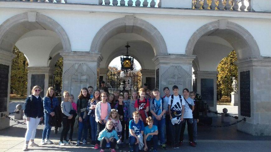 Wycieczka klas 5 – atrakcje w stolicy