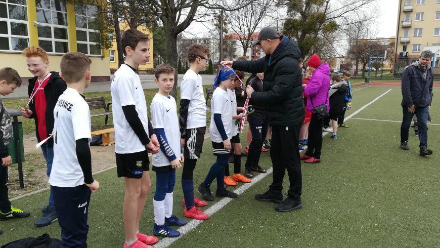 Zwycięstwo w mistrzostwach gminy w piłce nożnej chłopców