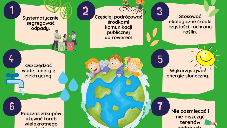 22 kwietnia Międzynarodowy Dzień  Ziemi