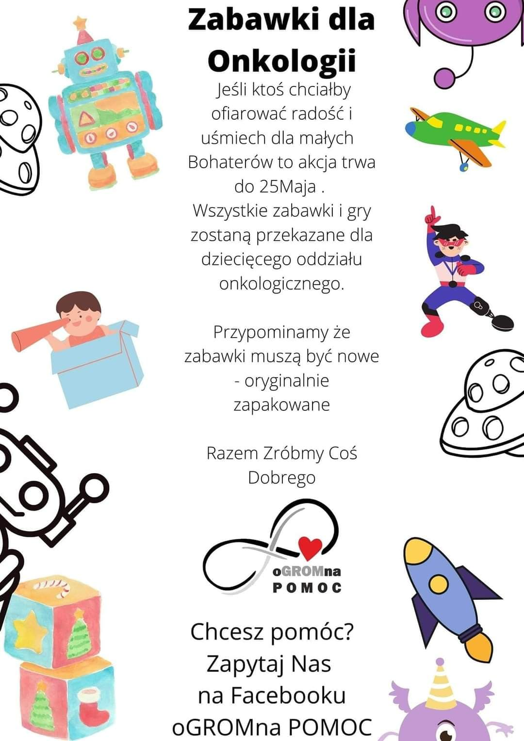 Zabawki dla Onkologii