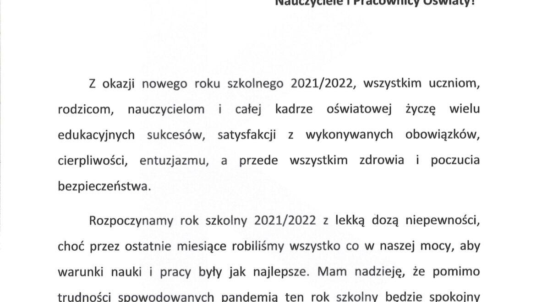 List Burmistrza Gminy Kozienice